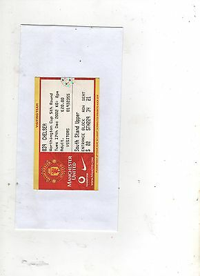 MANCHESTER UNITED v CHELSEA (LEAGUE CUP) 2002/03