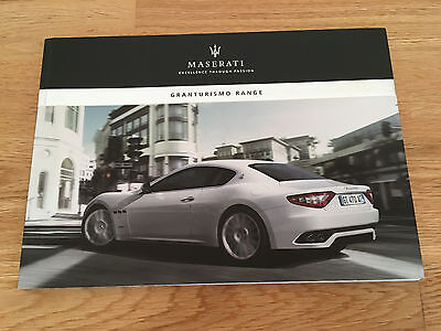 MASERATI GranTurismo S Range Official Brochure 96 pages