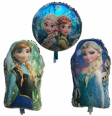 18`` Frozen Theme Kids birthday party foil Air or Helium Fill balloon UK