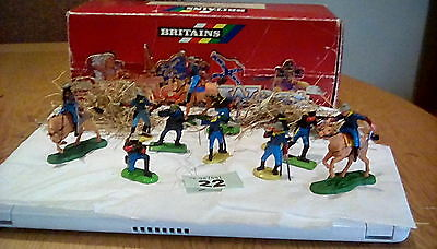 Mounted/foot 1/32 U.s 7Th Cavalry And Buffalo Soldiers Early Britains