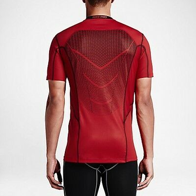 NIKE PRO HYPERCOOL MEN'S SHORT SLEEVE TRAINING TOP,Base Layer, Compression,Large