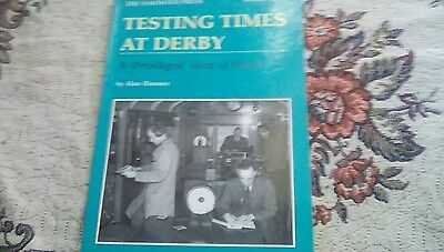 Testing Times at Derby