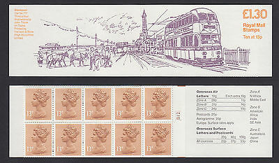 1985 FL5B £1.30 Trams 3 Blackpool Car 717 cyl cylinder B12 Folded Booklet