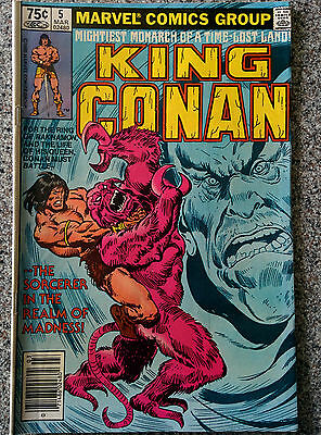 Marvel Comics - King Conan #5 issued March 1981