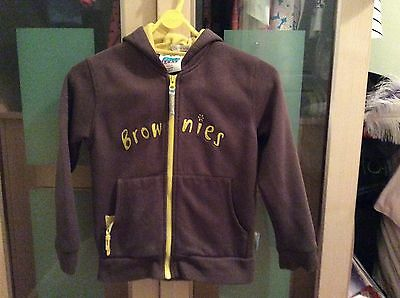"""Girls Official Brownie Hoodie Size 30"""""""