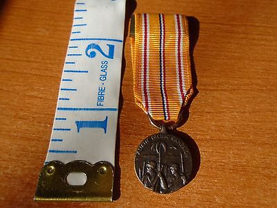 Asiatic Pacific Campaign Mini Military Medal US Military Award Bar Mount J