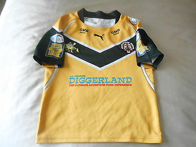 Castleford Tigers Shirt By Puma   Boys 24/26