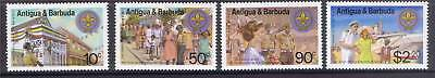 Antigua 1982 Anniv Of Scout SG 752/5 MNH