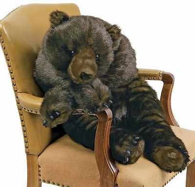 Grizzly Bear Stuffed 48 in Large Animal Body Pillow Hug Ditz Designs