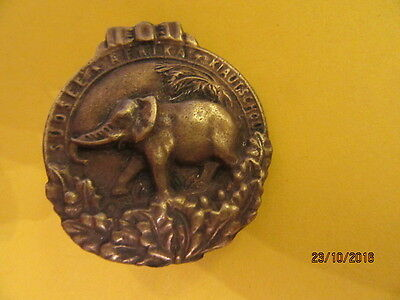 Germany - bronze Elephant Order Colonial marked badge