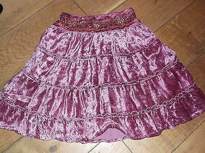 Next girl's beaded skirt 5 years. Great for Christmas party.