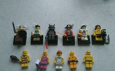 Lego Mixed Series 7 and 8 Mini Figures