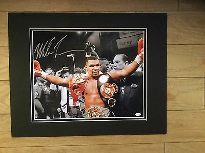Mike Tyson Pre Printed Autographed Photo