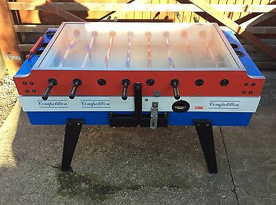 Vintage Garlando Red, White & Blue Table Football/Foosball - Man Cave - Bar!!