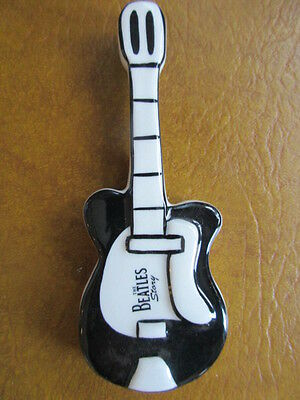Rare Lorna Bailey The Beatles Guitar Fridge Magnet  Perfect Signed