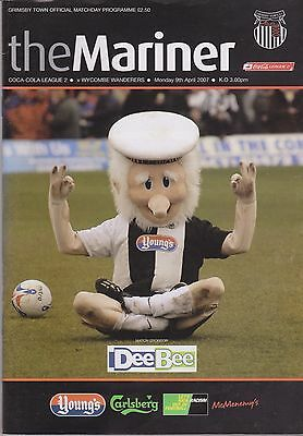 Grimsby Town v Wycombe Wanderers - League 2 - 9/4/07