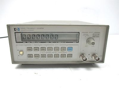 HP Hewlett Packard 5384A Frequency Counter Laboratory Lab Unit Benchtop