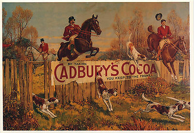Mayfair Postcards.(549) ~ Cadbury Collection ~ Horses And Hounds.