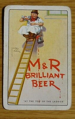 Brewery Single Playing Card. Moors' & Robson's. Hull.  Lawson Wood Artwork.