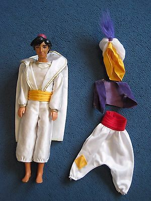 Aladdin doll with spare clothes