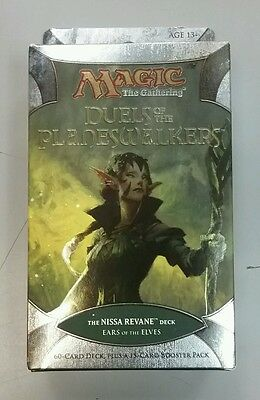 Magic Duels of the Planeswalkers Nissa Revane Ears of the Elves Sealed