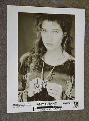 "8"" x 10 1/4"" Black & White Photograph Friends of Amy Grant Signed"