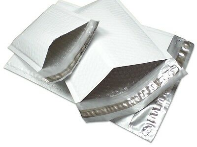 100 7.25 x 12 #1 Poly Bubble Mailers Padded Envelopes Mailing Bags Shipping