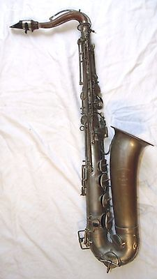 Saxophone Ancien / Old Saxophone Georges Carcassonne Paris