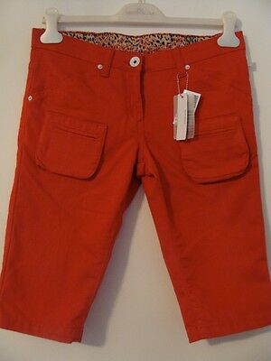 Bnwt Roberto Cavalli Red Shorts Sz S 30 W *see More*