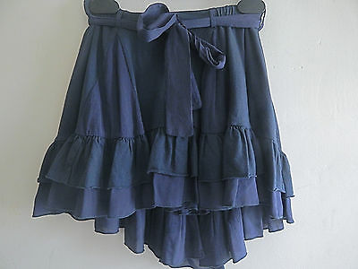 Bnwt Designer Twin-Set Layered Dipped Back Skirt Age 4 Tag Price £79