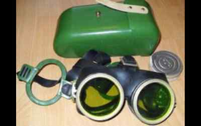 Authentic Soviet Army Protective GLASSES  Googles with case Cold war RARE!