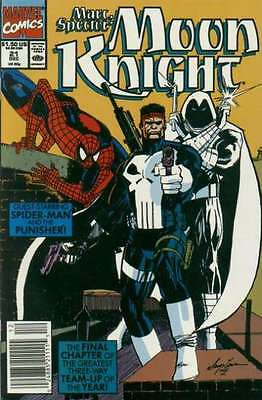 Marc Spector: Moon Knight #21 in Near Mint + condition. FREE bag/board