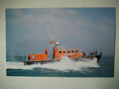 RNLI A Tyne Class Self Righting Lifeboat Old Postcard