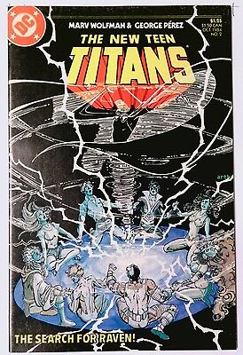 The New Teen Titans #2 (Oct 1984, DC) FN