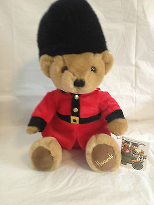 Harrod's of London Beefeater Teddy Bear with Tag
