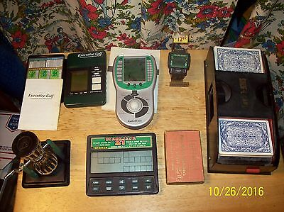 Miscellaneous Gambling & Golf Games Parts only SEE PIC's.
