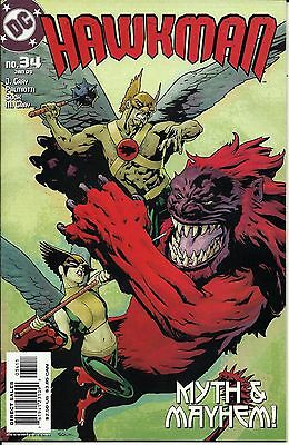Hawkman #34 (Jan 2005, DC) Very Nice And possible Gradable