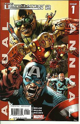 Ultimates Annual #1 (Oct 2005, Marvel) Never Read Gradable