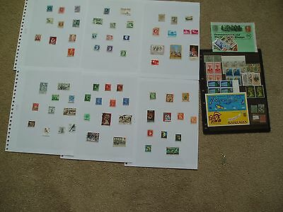 Collection of stamps from albums club stock below 20% cat value