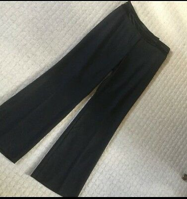 Black Ladies Trousers by Monsoon, UK Size 10. Excellent Condition