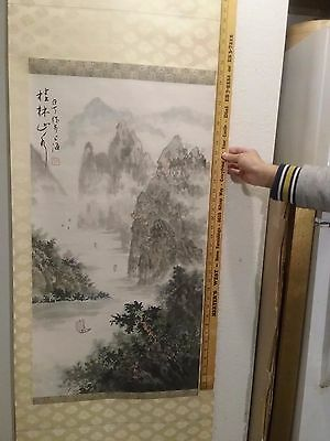 Gorgeous Chinese Scroll Painting, Vintage / Antique