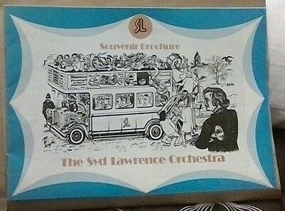The Syd Lawrence Orchestra Programme 1970s