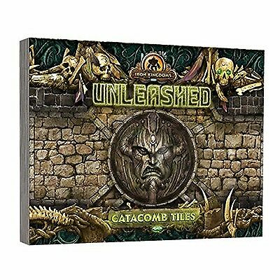 Iron Kingdoms Unleashed Catacomb Tiles Game