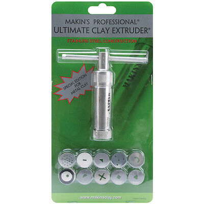 Makin's Professional Ultimate Clay Extruder-Stainless Steel