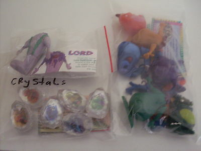 Yowie Yowies Series 4 Full Set Of 13 Limited Editions  All Papers Intact