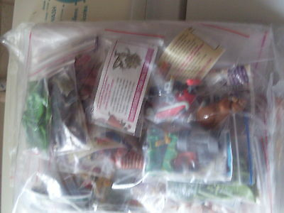 Yowie Yowies Series 6 Adventure Series 1   Full Set Of 30 All Papers Intact