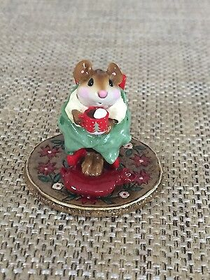 Wee Forest Folk - WFF Hot Cocoa Christmas Limited Edition Retired