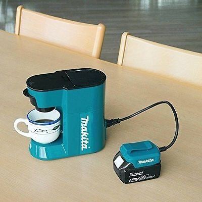 Makita DCM500Z Cordless Coffee Maker 18v LXT DC+AC 110-120 volt UK plug NEW 2015