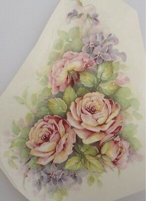 Ceramic Decal    11 x 9cm     ROSE ROMANCE