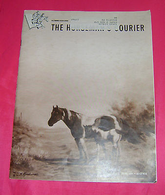 1968 THE HORSEMAN`S COURIER June Magazine+ ALL BREED MAGAZINE+